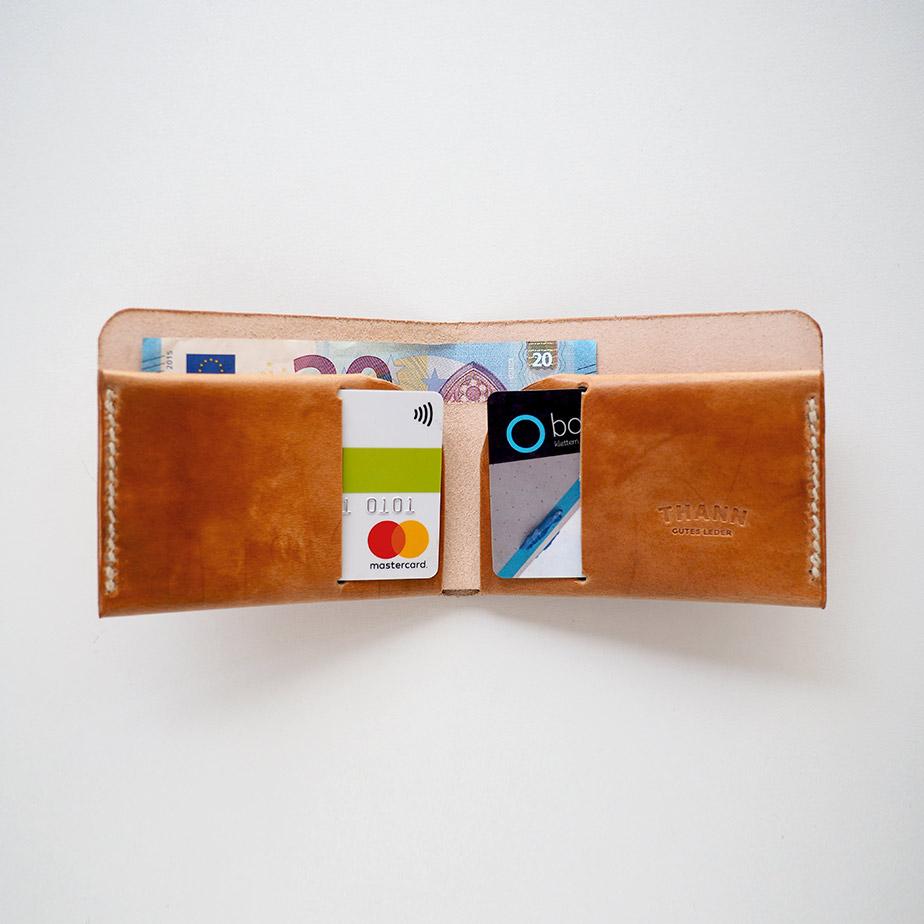 Portemonnaie - Cardholder Wallet vegtan rugged