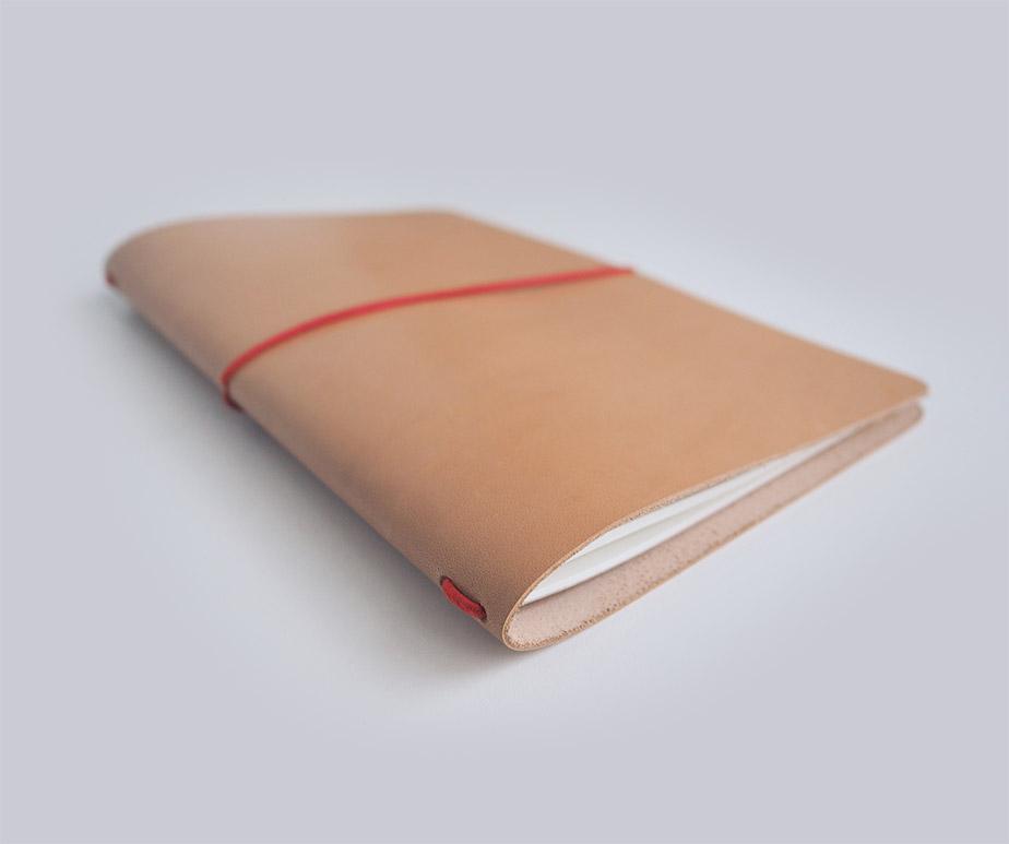Notizbuch Einband Leder