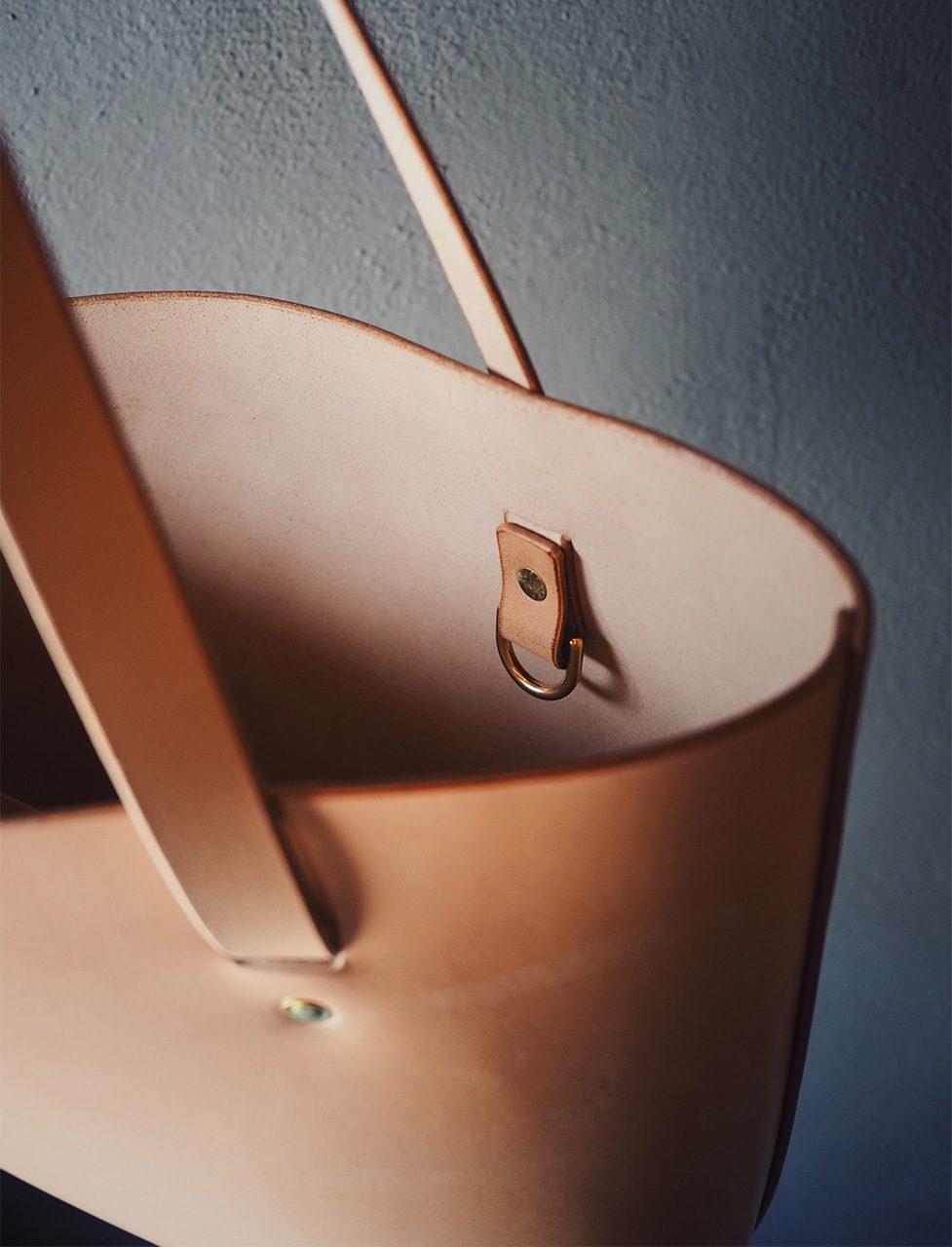 Tote Bag aus Ökoleder
