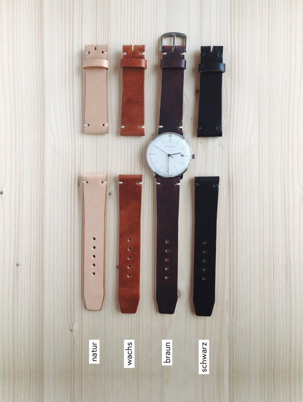 Uhrenband Leder ökologisch