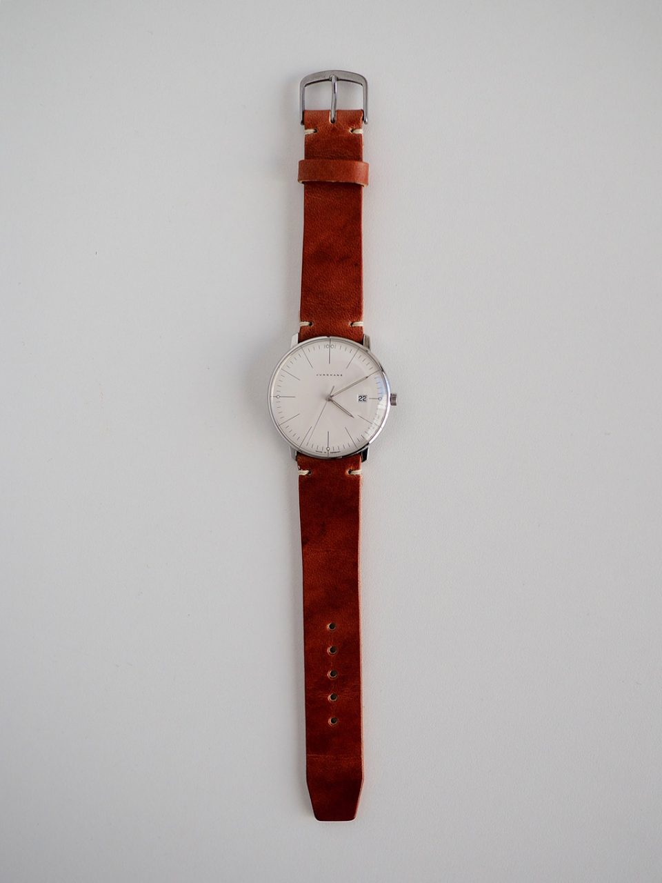 Uhrband Leder Junghans Max Bill nachhaltig